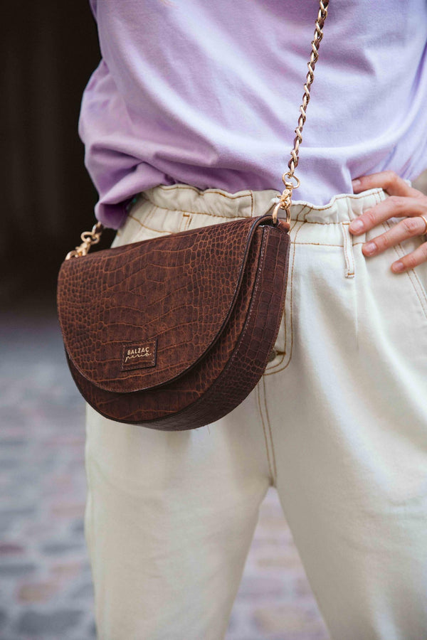 sac-cuir-cognac-embosse-chaine-tressee-nathanael