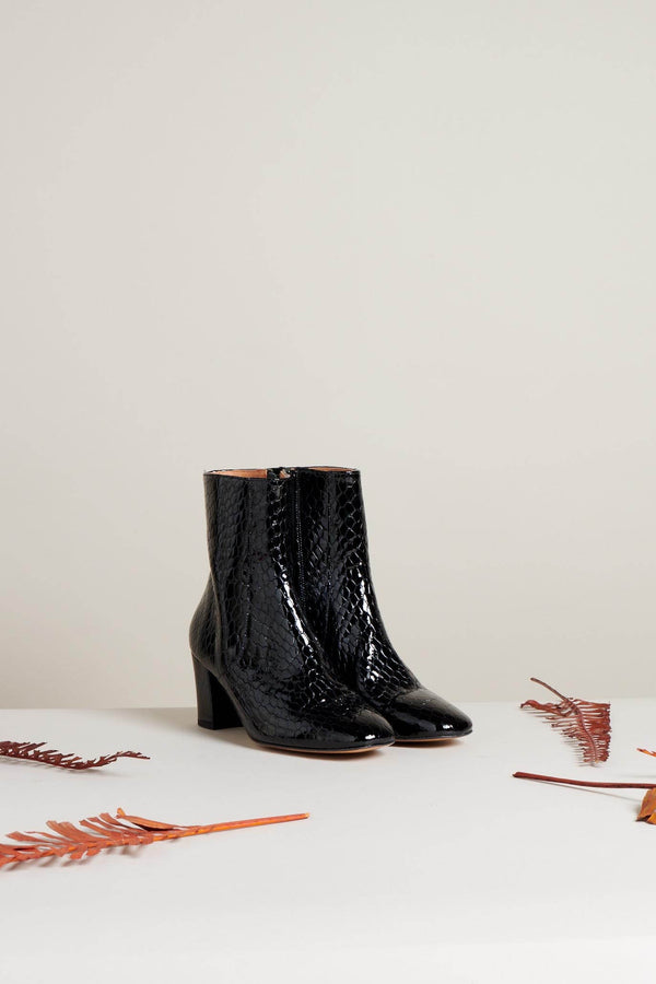bottines-croco