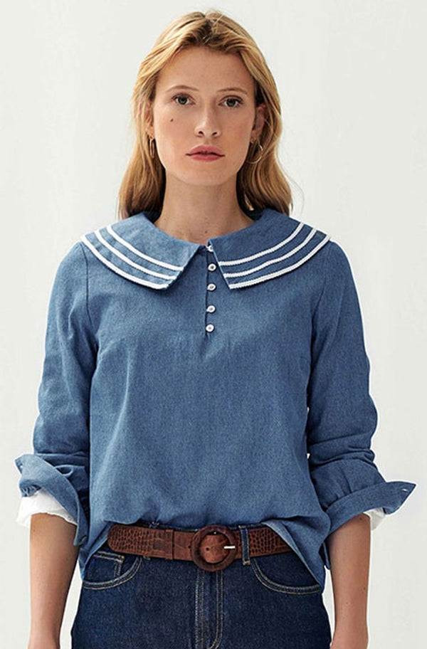 blouse-jean-col-broderie