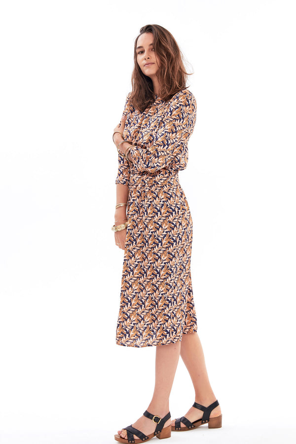 colored-leaf-print-colette-dress-colored-leaf-print