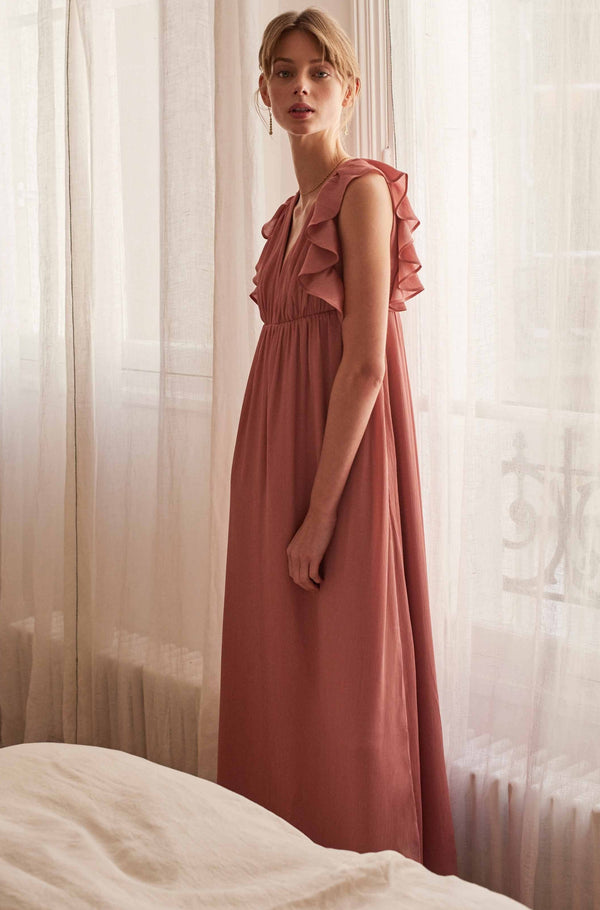 robe-mariage-rose-decollete-devant-maverick