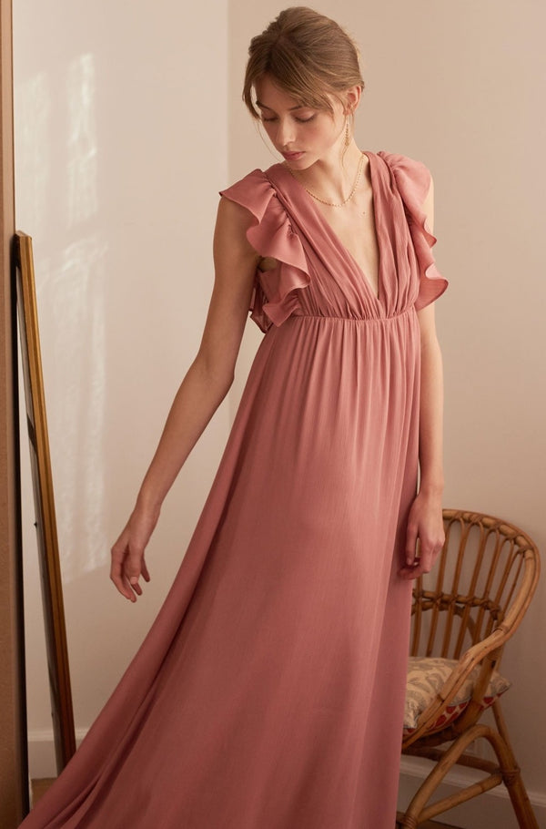 robe-maverick-rose-decollete-devant
