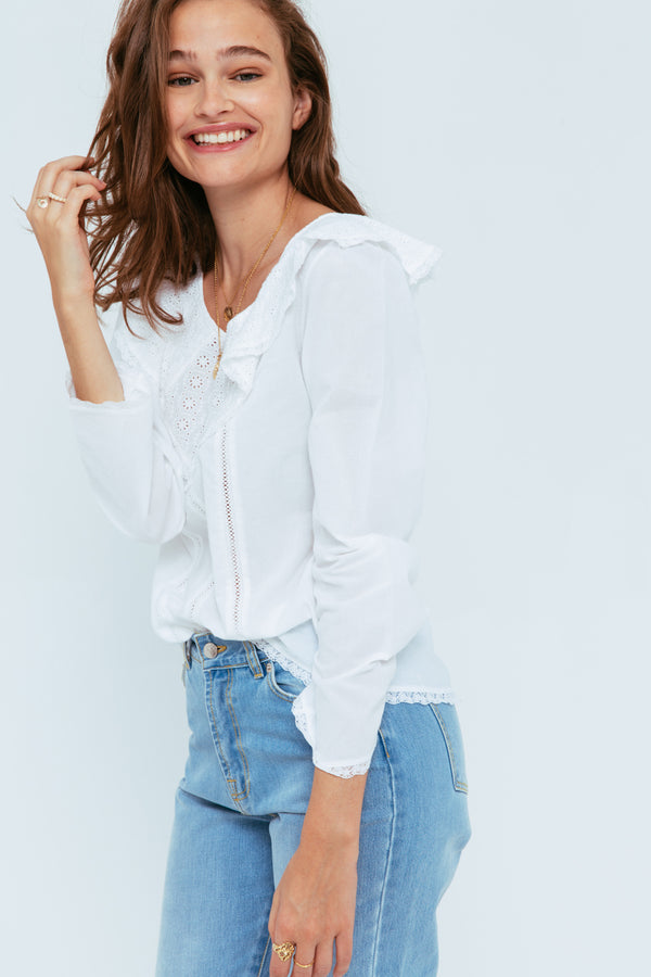 blouse-brune-blanche