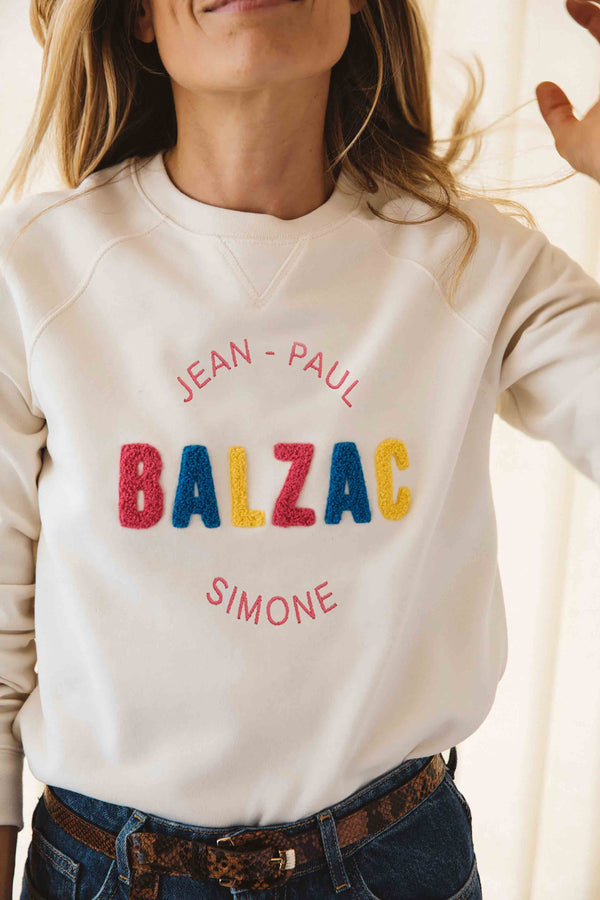 sweat-shirt-litteraire-jean-paul-simone-ecru