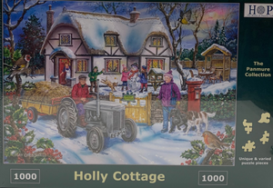 The House of Puzzles Holly Cottage