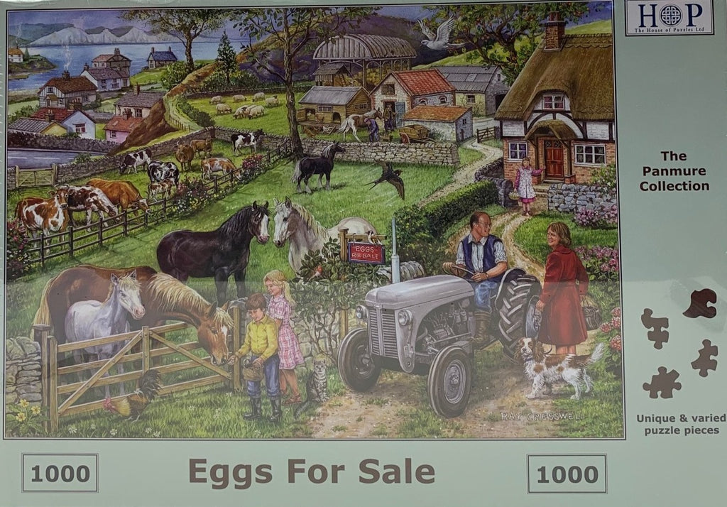 The House of Puzzles Eggs For Sale
