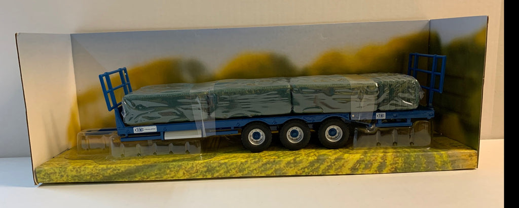 43218 BRITAINS KANE BALE TRAILER PLAY SET