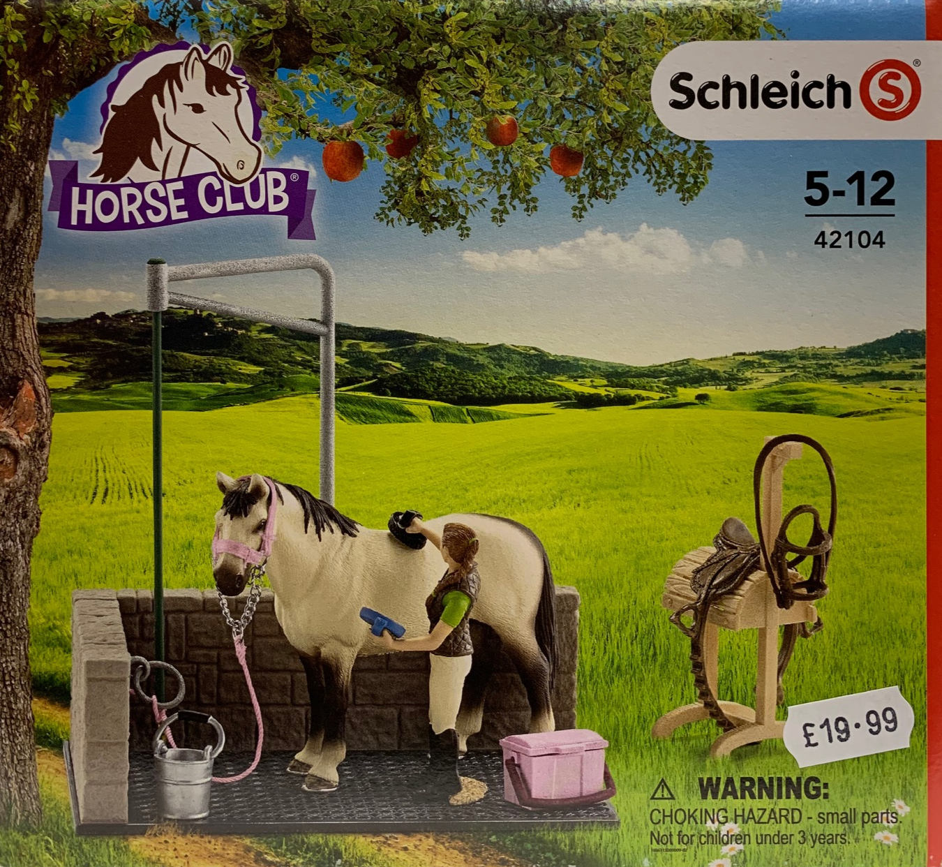 42104 SCHLEICH HORSE WASH AREA