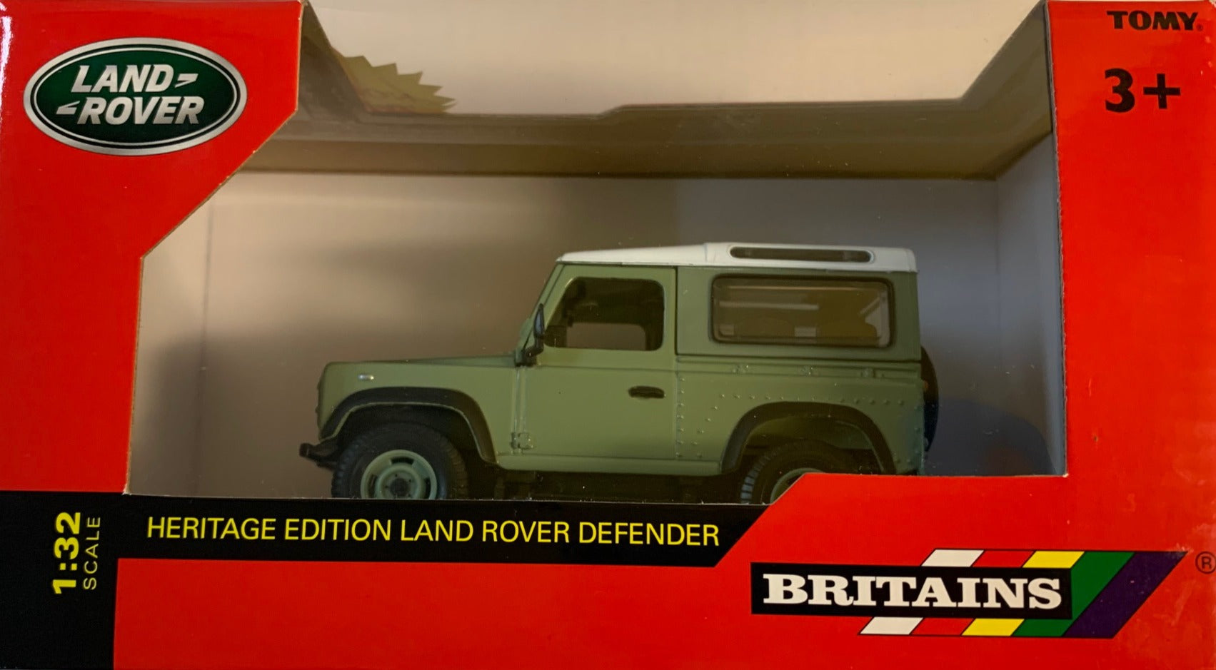 43110A1 BRITAINS HERITAGE COLLECTION LAND ROVER DEFENDER
