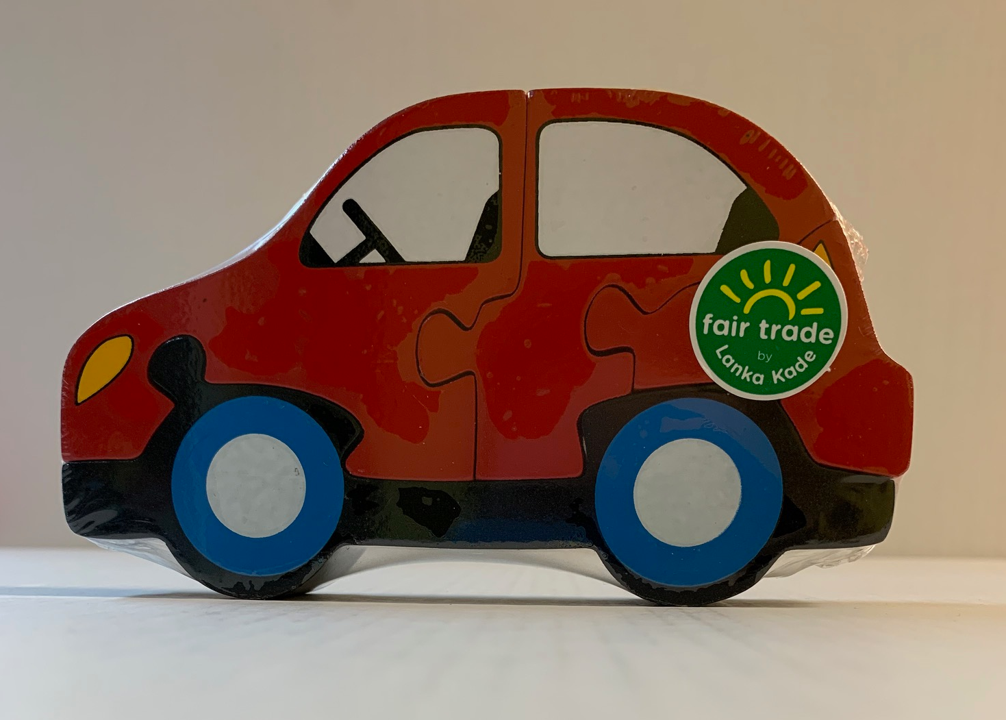 SJ22 LANKA KADE MINI JIGSAW RED CAR