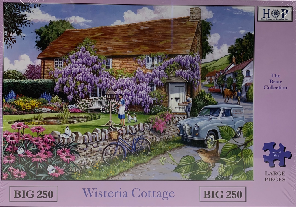 The House of Puzzles Wisteria Cottage