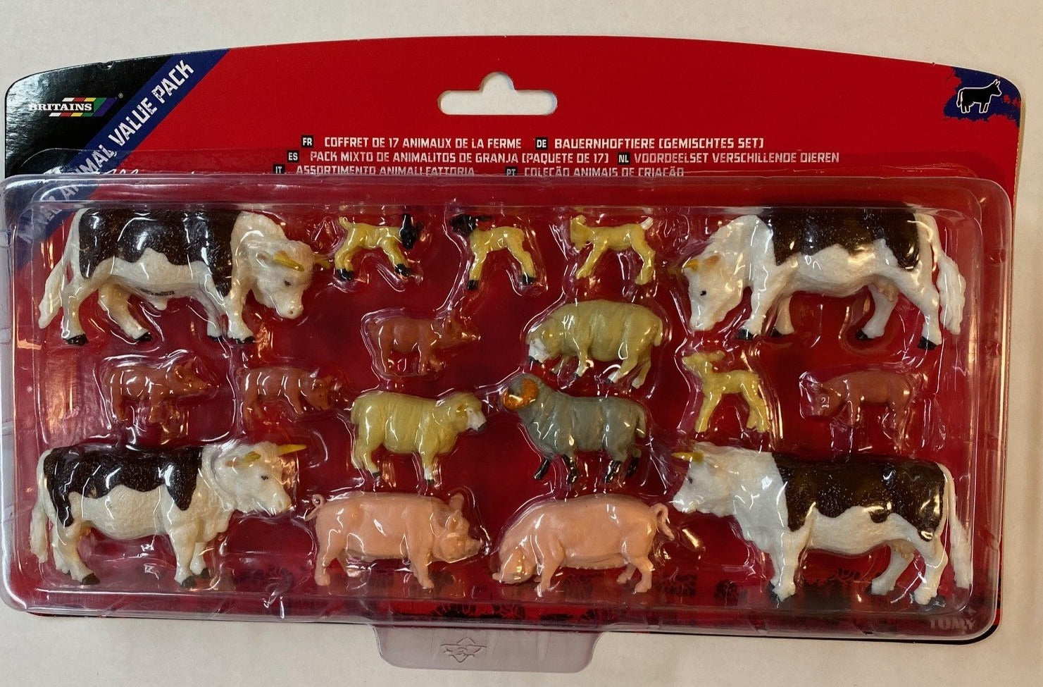 43096A2 BRITAINS MIXED ANIMAL VALUE PACK