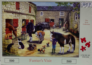 The House of Puzzles Farrier's Visit