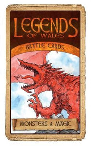 Legends of Wales Battlecards: Monsters and Magic