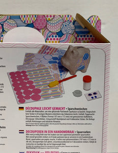 Melissa & Doug Decoupage Made Easy: Piggy Bank