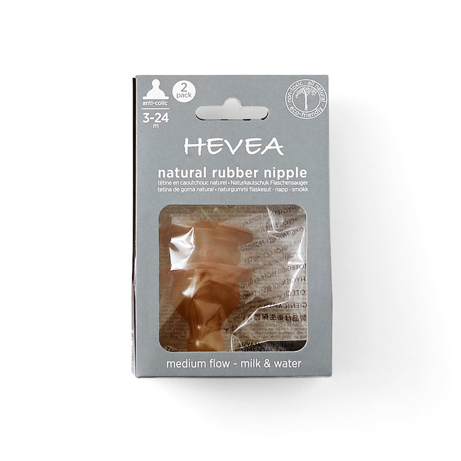 HEVEA Anti Colic Natural Rubber Teat