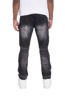 RACER DENIM- BLACK
