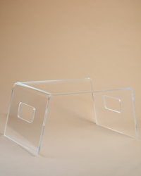 Clear Acrylic Bed Tray Table