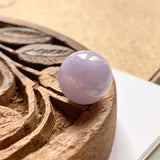 SOLD OUT: A-Grade Natural Lavender Jadeite Barrel Pendant No.171436
