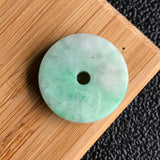 SOLD OUT: A-Grade Type A Natural Jadeite Jade Donut Pendant No.170335