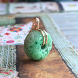 SOLD OUT:Jadeite Donut Pendant No.170560
