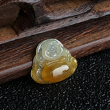 SOLD OUT: Icy A-Grade Type A Natural Jadeite Jade Mini Buddha Pendant No.170407