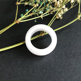 SOLD OUT: A-Grade Type A Jadeite Jade Lavender Ring No.161225