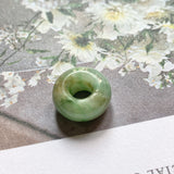 A-Grade Natural Jadeite Barrel Pendant No.151740