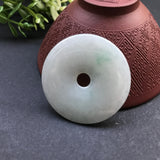 SOLD OUT: A-Grade Type A Natural Jadeite Jade Donut Pendant No.170075