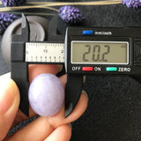 51.65ct A-Grade Type A Natural Lavender Jadeite Jade Large Oval Cabochon Piece No.130020