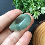 SOLD OUT: A-Grade Type A Natural Red Top Jadeite Jade Saddle Ring No.161228