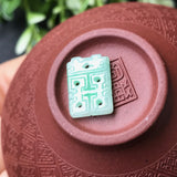 SOLD OUT: A-Grade Type A Natural Jadeite Jade Double Happiness Pendant No.170146