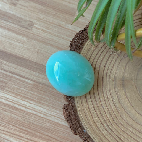 20ct A-Grade Natural Green Jadeite Cabochon No.130125