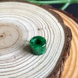 SOLD OUT: Imperial Green A-Grade Type A Natural Jadeite Jade Barrel Pendant No.170176
