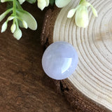 SOLD OUT: A-Grade Type A Natural Jadeite Jade Lavender Cabochon Piece No.25050