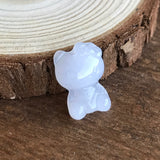 SOLD OUT: Lavender A-Grade Type A Natural Jadeite Jade Hello Kitty Pendant No.170177