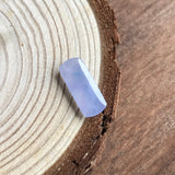 SOLD OUT: Icy A-Grade Type A Natural Jadeite Jade Lavender Saddle Piece No.25053