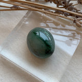 52.20ct A-Grade Natural Floral Jadeite Oval Cabochon Piece No.130104