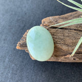 22.60ct A-Grade Natural Light Green Jadeite Oval Cabochon No.130104