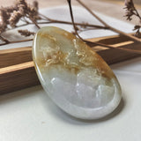 A-Grade Natural Jadeite Pendant With Carvings No.220188
