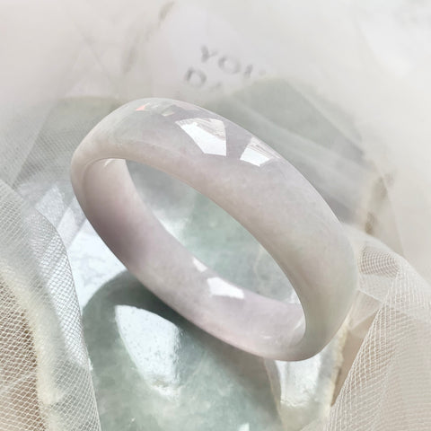 51.6mm A-Grade Natural Jadeite Modern Bangle (Right-Angle) No.151729