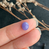 1.55ct A-Grade Natural Purple Jadeite Oval Cabochon No.130165