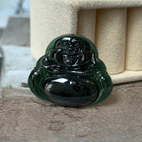 SOLD OUT: A-Grade Natural Omphacite Jadeite Buddha Pendant No.171577