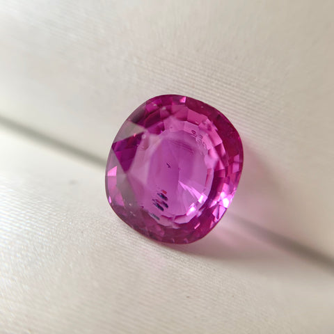 1.50ct Cushion Natural Pink Sapphire No.12006
