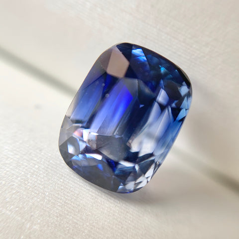 2.21ct Cushion Natural Blue Sapphire No.12010