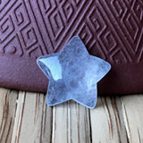 SOLD OUT: Icy A-Grade Type A Natural Jadeite Jade Star Cabochon Piece No.25072