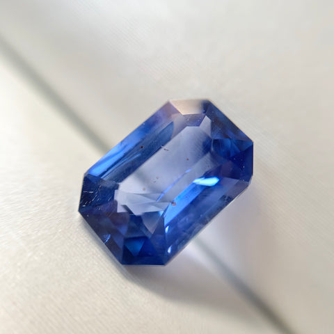 2.53ct Emerald Natural Blue Sapphire No.12013