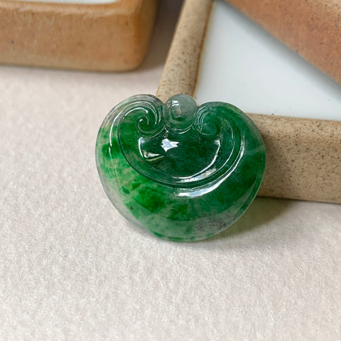 A-Grade Natural Imperial Green Jadeite Ruyi No.171294