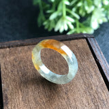 SOLD OUT: A-Grade Type A Natural Jadeite Jade Ring Band No.161256