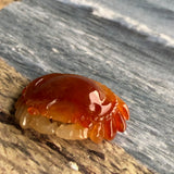 SOLD OUT: A-Grade Type A Natural Red Jadeite Jade Crab Pendant No.170545